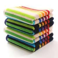 条纹的毛巾 制造商