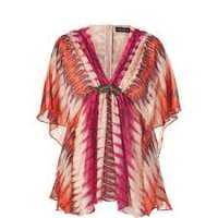 Printed Silk Tunic Manufacturers