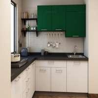 L Shape Modular Kitchen Manufacturers
