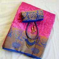 Jacquard Silk Saree Manufacturers