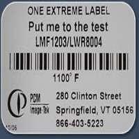 High Temperature Labels Manufacturers