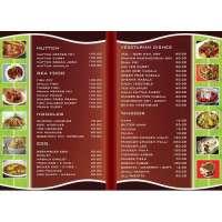 Menu Card Printing Services Manufacturers