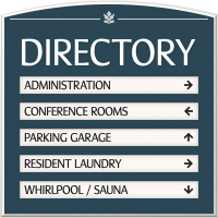 Directory Signs Manufacturers