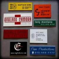 Equipment Labels Manufacturers