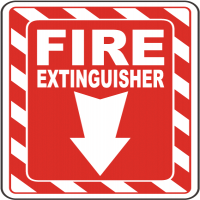 Fire Extinguisher Signs Manufacturers