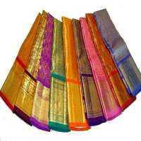 Polyester Cotton Sarees Manufacturers