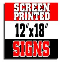 Screen Printed Signs Manufacturers