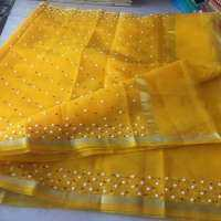 Pearl Work Saree Manufacturers