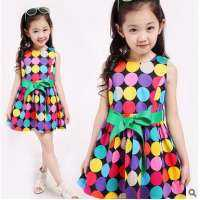 Colour Children Dress Manufacturers