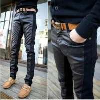 男士皮革长裤 制造商