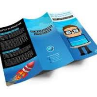Tri Fold宣传册印刷服务 制造商