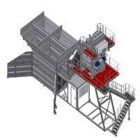 模块化混凝土搅拌站 制造商