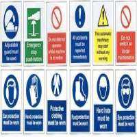 Industrial Signs Manufacturers