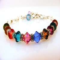 Multi Colored Crystal Bracelet Manufacturers