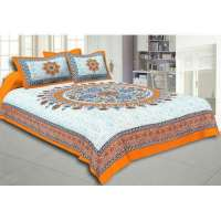 Jaipuri Cotton bed sheet Manufacturers