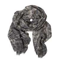 Printed Wool Gauze Scarf Manufacturers