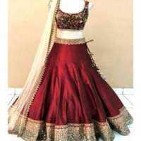 Bridal Silk Lehenga Manufacturers