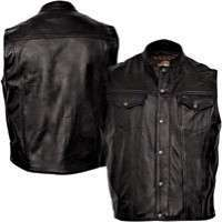 Mens Leather Vest Manufacturers