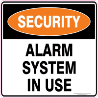 Security Sign Manufacturers