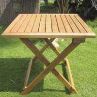 Wooden Garden Table Manufacturers