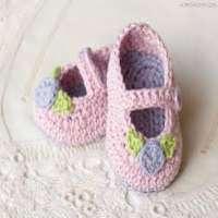 Baby Crochet Booties Manufacturers