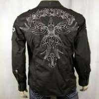 Embroidered Men Shirt Manufacturers