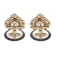 Kundan Meena Earrings Manufacturers