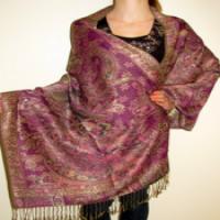 丝绸Pashmina披肩 制造商