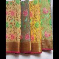 Muslin Silk Saree Manufacturers
