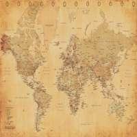世界地图 制造商