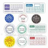 Warranty Labels Manufacturers