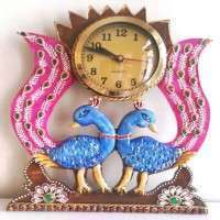 Peacock Hanging Wall Clock Importers