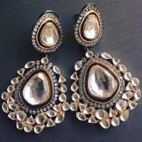 Polki Earring Manufacturers