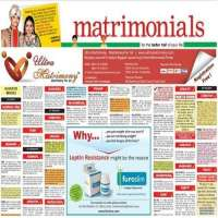 Matrimonial Advertising Services Manufacturers