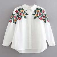 Embroidered Womens Tops Manufacturers
