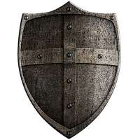 中世纪的盾牌 制造商
