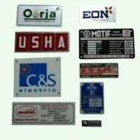 Anodized Aluminium Labels Manufacturers