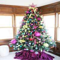 多彩的圣诞树 制造商