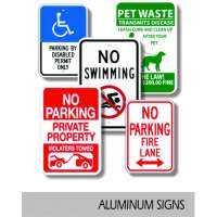Aluminum Signs Manufacturers