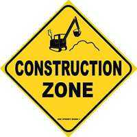 Construction Zone Sign Manufacturers