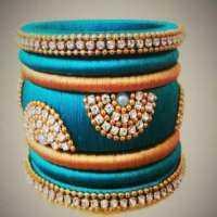 Handmade Thread Bangles Manufacturers