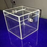 Acrylic Donation Box Manufacturers