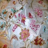 绣花丝绸 制造商