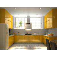 U Shape Modular Kitchen Manufacturers