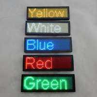 LED Name Badge Manufacturers