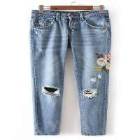 绣花裤 制造商