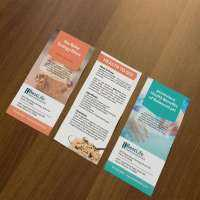 Rack Card Printing Services Manufacturers
