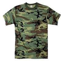 Camouflage T Shirt Manufacturers