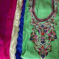 Unstitched Ladies Embroidered Suits Manufacturers