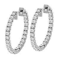 钻石箍耳环 制造商